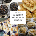 photo collage of breakfast items
