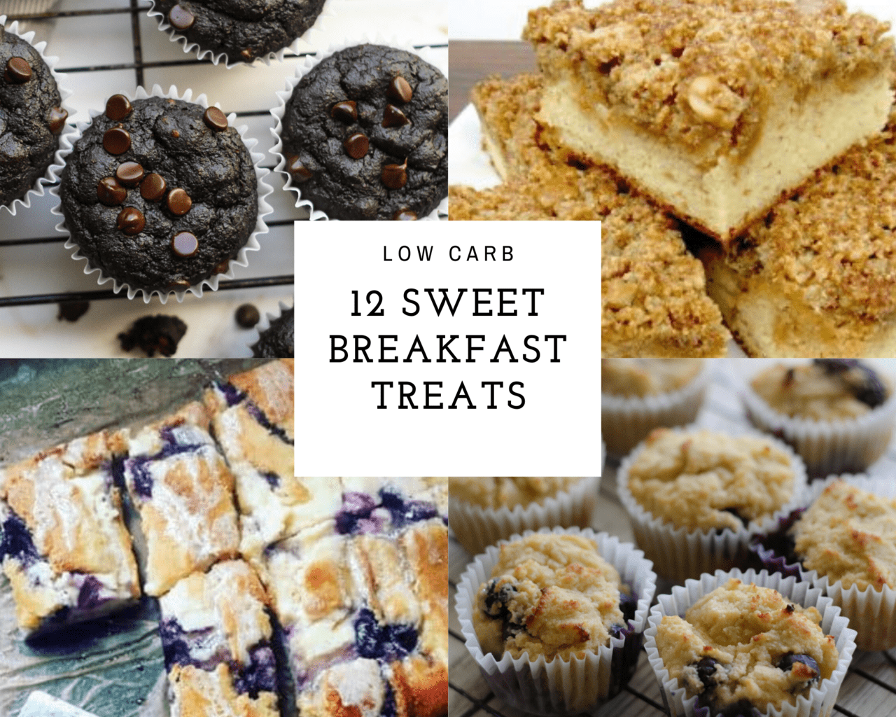 12 Low Carb Sweet Treats For Breakfast Noshin Num Nums