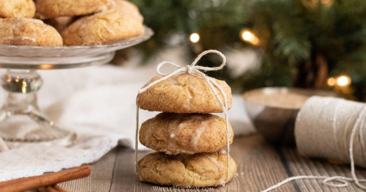 Melt In Your Mouth Eggnog Cookies