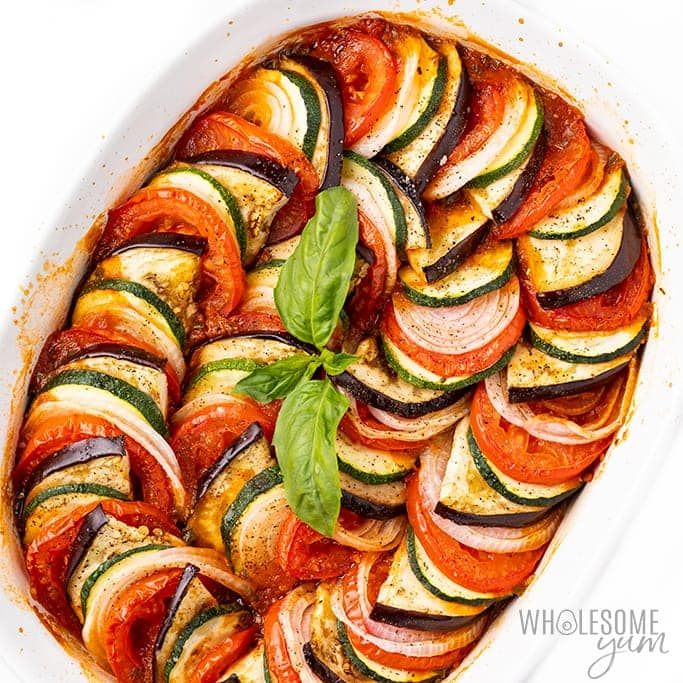 The Best Easy Baked Ratatouille Recipe