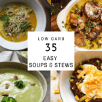 soup and stew picture collage