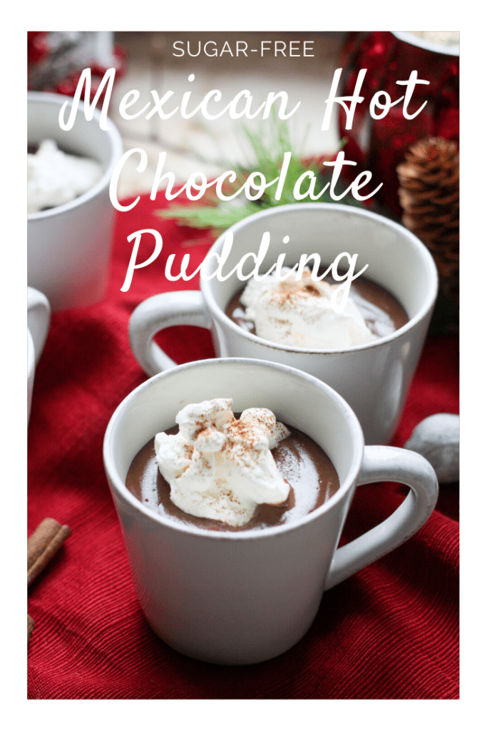 Mexican Hot Chocolate Pudding pin