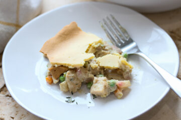 low carb keto chicken pot pie