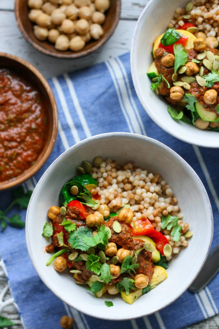 moroccan vegetable tagine bowls